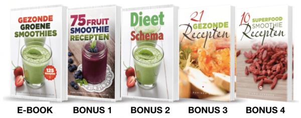 125 Groene Smoothies Recepten E-boek
