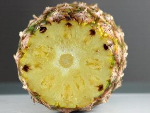 verse ananas help bij het afvallen