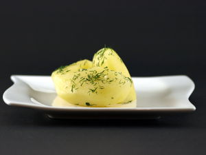 Hoe dille aardappelen maken