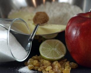 Snelle appeltaart suikervrij met stevia