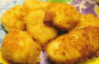 Kipnuggets zelf gemaakt